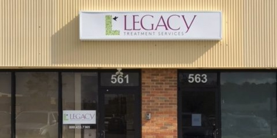 Legacy store front