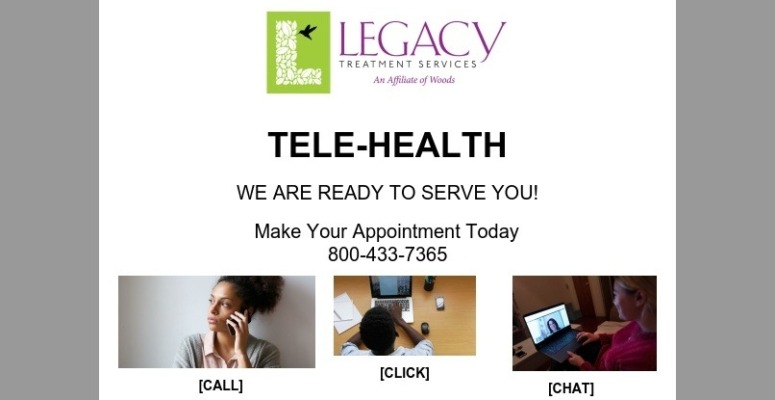 Legacy Outpatient Programs Open Through TELE-HEALTH
